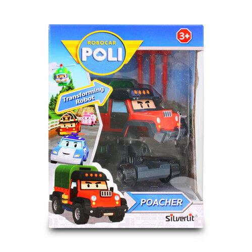 波力Poli-4吋變形波契●卡通商品
