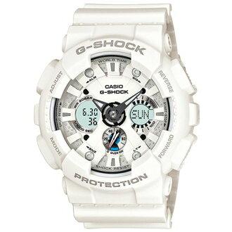 CASIO G-SHOCK GA-120A-7A儀表雙顯流行腕錶/51mm