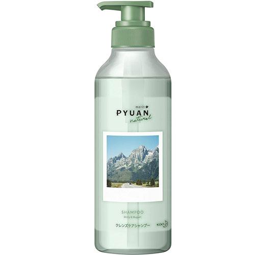 日本製 花王 KAO merit Pyuan 頭皮養護 洗髮精 425ml~綠瓶 薄荷&鈴蘭✿