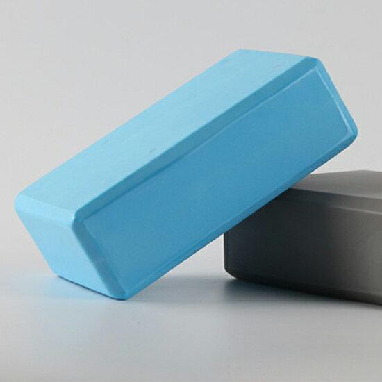 ♚MY COLOR♚環保瑜珈磚 瑜珈枕 瑜伽輔助用品 皮拉提斯 無毒 EVA 健身磚 按摩 運動【P501】