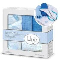 彌月禮盒推薦到加拿大 lulujo 嬰兒包巾禮盒組-帆船【100%純棉,新生兒彌月禮最佳首選】【紫貝殼】就在紫貝殼推薦彌月禮盒
