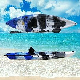 【2米95單人艇皮划艇-L004-標配-295*79*27cm-1套/組】獨木舟 釣魚船 滾塑硬艇塑膠艇 平臺舟 海洋舟(裸艇,需預定+海運)-7682035