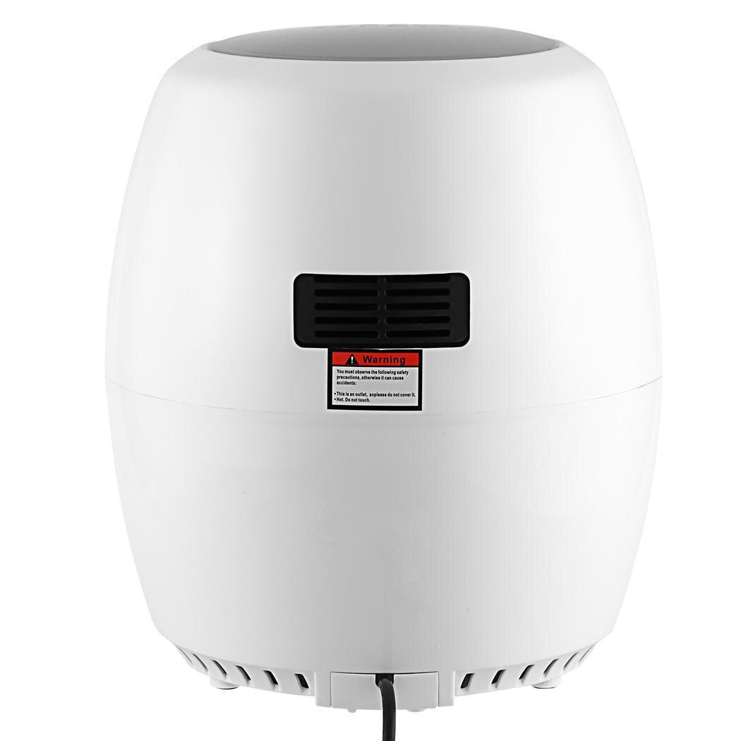 Electric Air Fryer 1300W with Rapid Air Circulation Temperature Control Timer 0