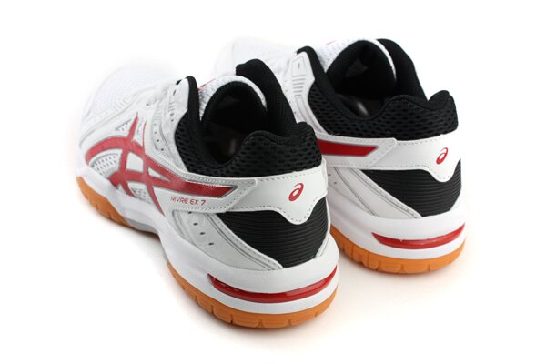亞瑟士 ASICS RIVRE EX 7 羽排球鞋 運動鞋 白色 男鞋 TVR482-0123 no316 1
