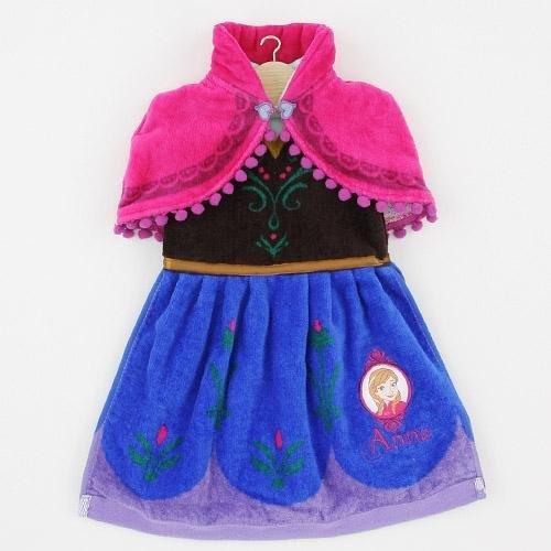 ◎LY愛雅日貨代購◎ 日本代購 迪士尼 禮服毛巾系列 ANNA 安娜 冰雪奇緣