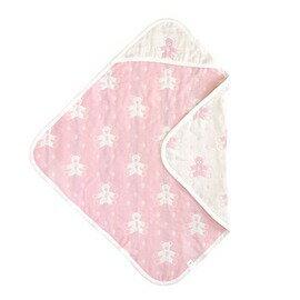 Hoppetta - Souleiado - 六層紗普羅旺斯熊包巾 (粉紅) 0