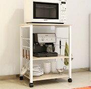 廚房電器架/層架/電器收納架/廚櫃/餐櫃/廚房收納架/碗盤櫃/廚房電器櫃( 購商品5/30到貨)