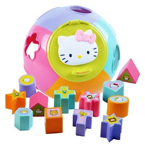 《 Hello Kitty 》Puzzle Ball 形狀拼圖對應球