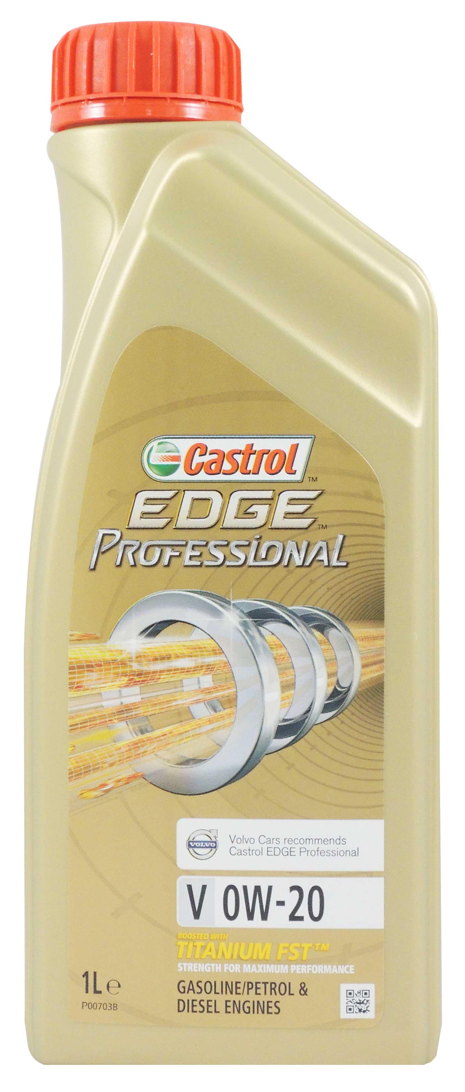 【CASTROL】 EDGE Professional V 全合成機油 0W-20 VOLVO