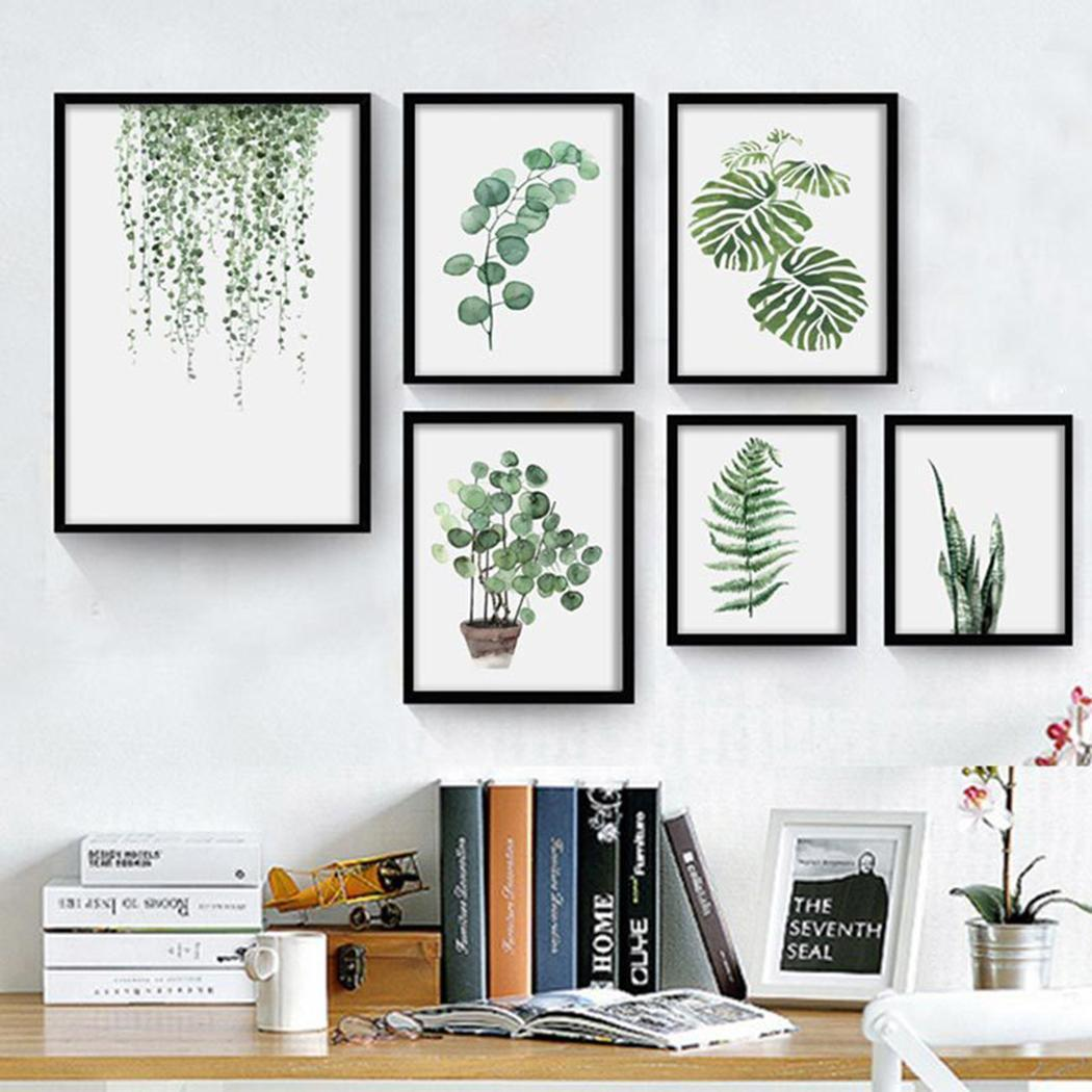 Plant Artwork Canvas Print Wall Art Home Wall Decoration 2