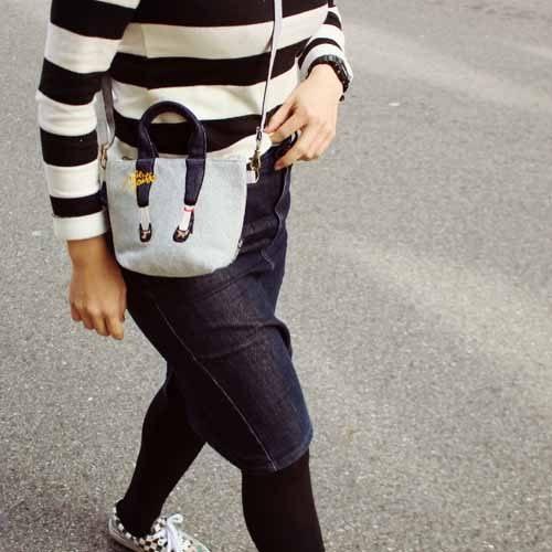 Mis Zapatos高跟鞋iphone 7帆布包鞋背包觸控包547223