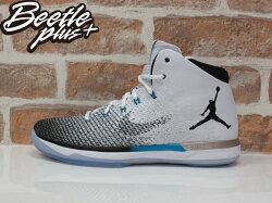 特價$4980 BEETLE PLUS 全新 商品 現貨 NIKE AIR JORDAN XXXI  N7 31代 黑白 漸層 籃球鞋 854272-003 US 11 D-647
