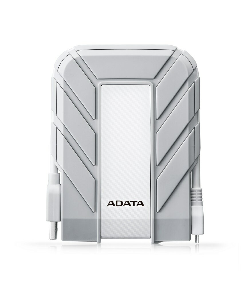 ADATA HD710A Waterproof/Dustproof/Shock-Resistant USB 3.0 External HDD for Apple 1TB White (AHD710A-1TU3-CWH) 0