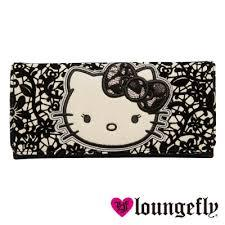 【Loungefly】Hello Kitty聯名款長夾-蕾絲LFSANWA0705《品文創》