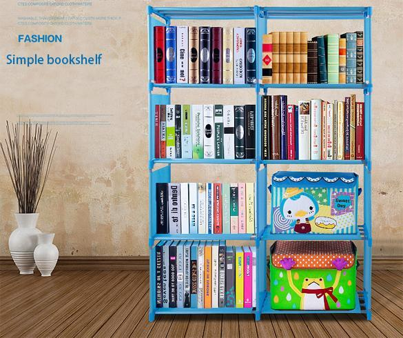 4 layer Adjustable Bookshelf 0