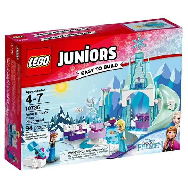 樂高積木 LEGO《 LT10736 》2017 年 Junior 系列 - Anna & Elsa's Frozen Playground