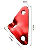 新手露營用品推薦到【【蘋果戶外】】AppleOutdoor AP-001 三角調節片 『顏色隨機出貨』鋁合金三角營繩調節片,65*40mm, 孔徑6mm