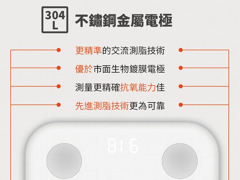 24H出貨+免運【第二代小米智能體重機】NCC認證+保固 小米體脂秤 小米體重計 小米體重機 體重器 智能體重器【AB117】 7