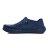 《2019新款》Shoestw【92U1SA03DB】PONY Enjoy 洞洞鞋 水鞋 海灘鞋 可踩跟 懶人拖 菱格紋 全深藍 白V 男女尺寸都有 2
