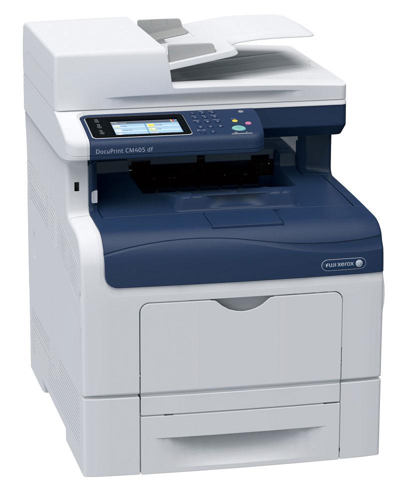 FujiXerox 富士全錄 DocuPrint CM405df A4 彩色多功能複合機 2