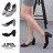 格子舖*【KDW9029】MIT台灣製 OL必備 時尚質感絨布 側面簍空 5.5CM中粗跟 尖頭包鞋 3色 0