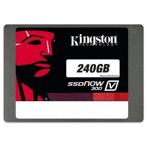 "Kingston SSD V300 Series 240GB SSDNow 2.5"" SATA III 6Gb/s 7mm Internal Solid State Drive SV300S37A/240G"