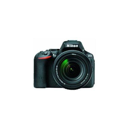 "Nikon D5500 24.2 Megapixel Digital SLR Camera with Lens International Version - 18 mm - 140 mm - 3.2"" Touchscreen LCD - 16:9 - 7.8x Optical Zoom - i-TTL - 6000 x 4000 Image - 1920 x 1080 Video - HDMI - PictBridge - HD Movie Mode - Wireless LAN 1"