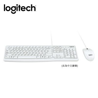 ^~雙周特惠^~ 羅技 Logitech MK120 有線鍵盤滑鼠組 ^(白^)