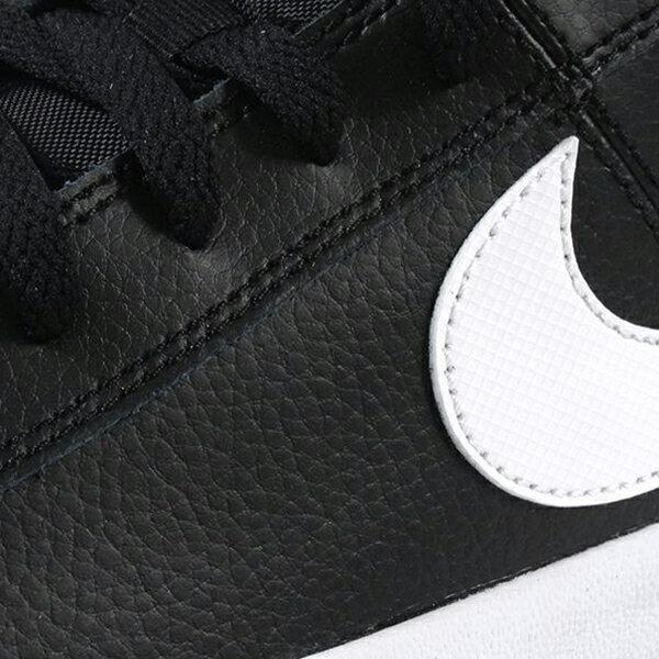 Shoestw【BQ4222-002】NIKE COURT ROYALE AC 休閒鞋 滑板鞋 皮革 黑白 男生尺寸 3