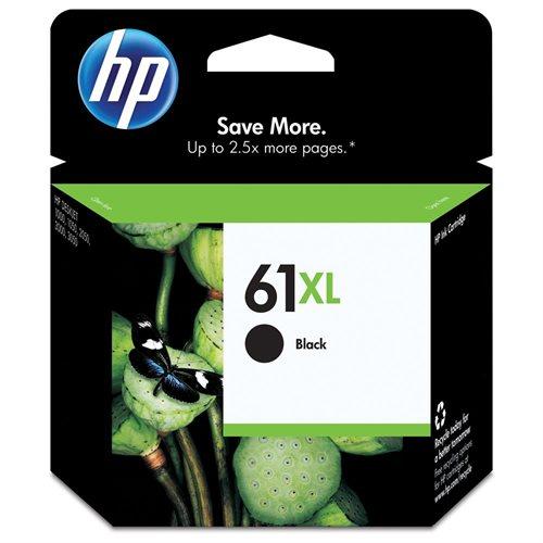 HP 61XL Original Ink Cartridge - Black - Inkjet - High Yield - 480 Page - 1 Each