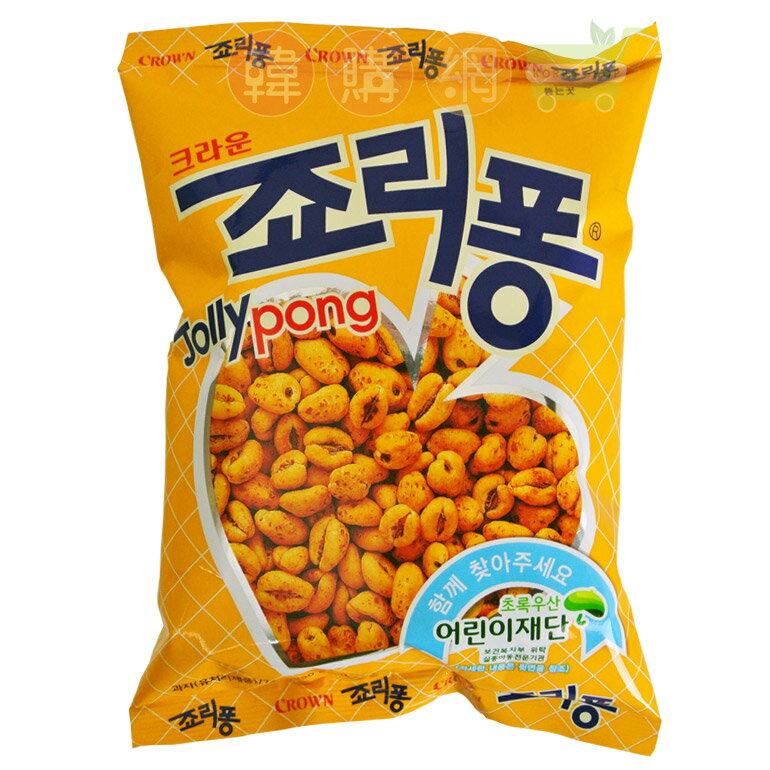 【韓購網】韓國Crown甜麥仁餅乾74g★韓國餅乾濃郁焦糖香味整顆顆粒狀★韓國進口零食小麥仁早餐牛奶麥片