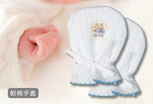 狐狸村傳奇-軟棉手套(藍/粉2色可選)59元