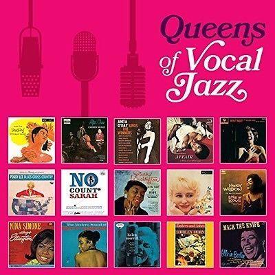 【停看聽音響唱片】【CD】QUEENS OF VOCAL JAZZ(8片裝)