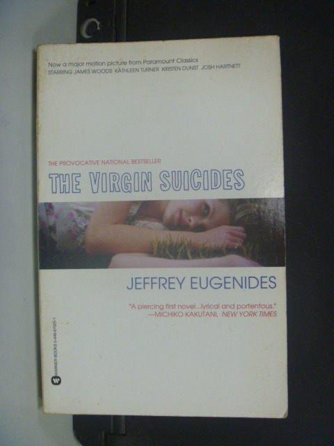 【書寶二手書T7/原文小說_GHC】The Virgin Suicides_Eugenides, Jeffrey