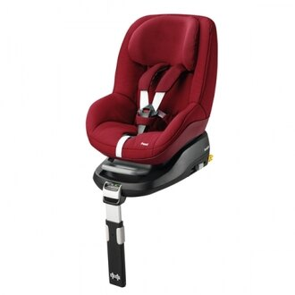 【Maxi Cosi】Pearl 成長型汽車安全座椅-紅色 【此商品不含底座】 【飛炫寶寶】