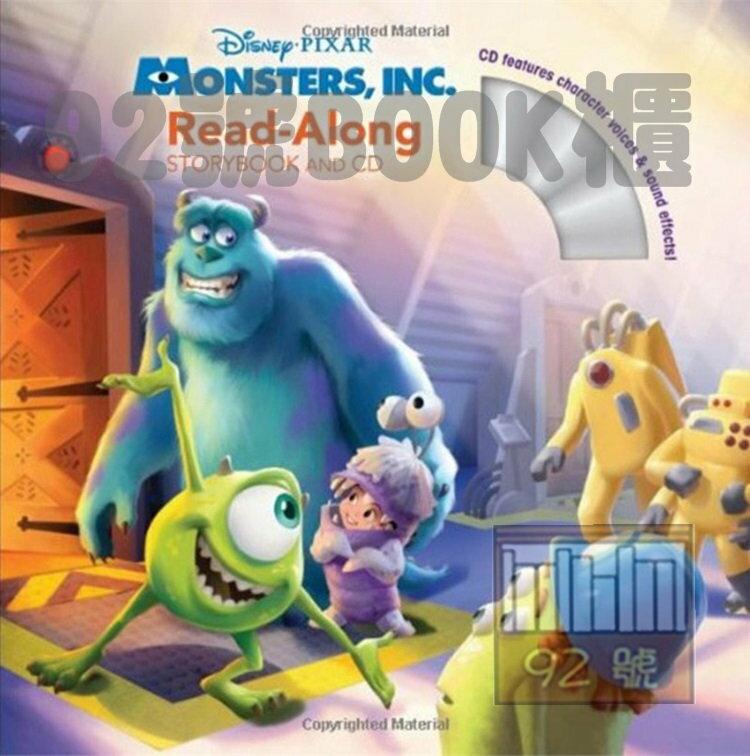 Monsters, Inc. 怪獸電力公司(CD有聲書)