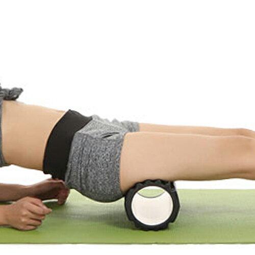 PS Mall EVA迷你空心瑜伽柱 瑜珈按摩滾輪 30x10cm 【H002】 2