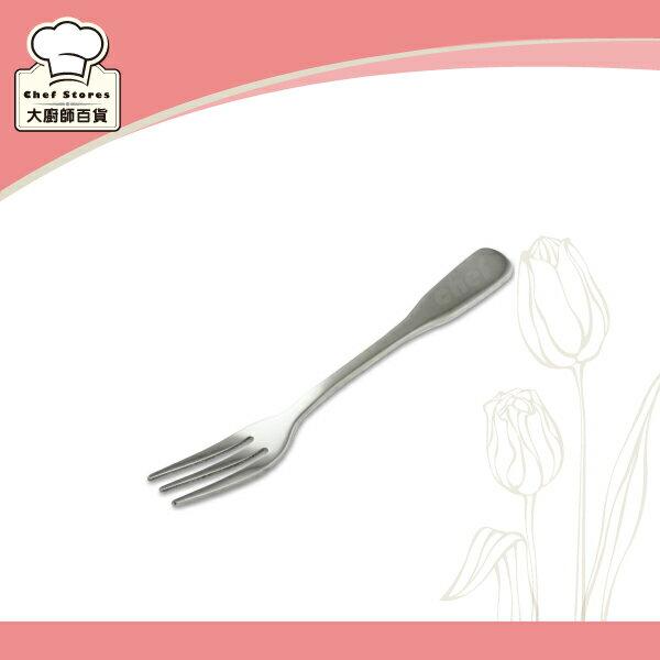 OSAMA王樣義式小餐叉子304厚料不銹鋼水果叉-大廚師百貨