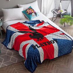 毛毯/PLAYBOY法蘭絨包邊加厚款 PY02 (A-nice) 超取限3件