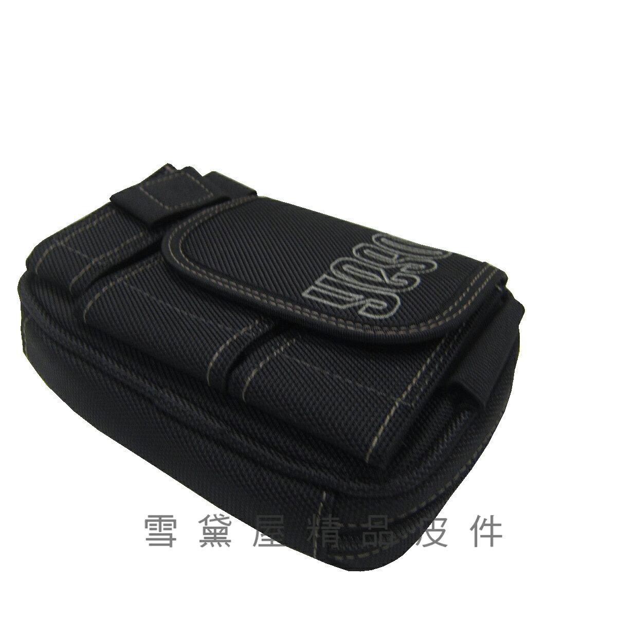 限時 滿3千賺10%點數↘ | ~雪黛屋~YESON 腰包中容量5.5吋手機掛相機包穿過皮帶固定台灣製造高單數彈道防水尼龍布材質附活動型長背帶Y561