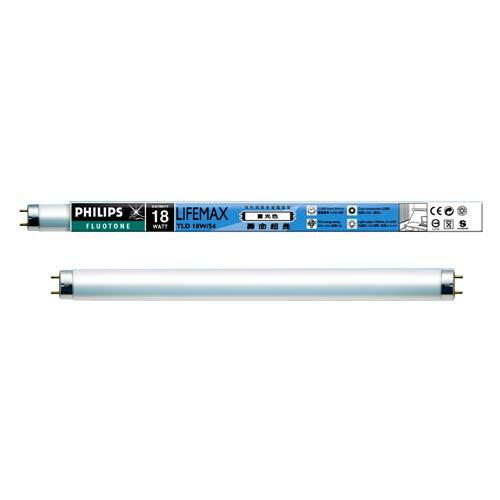 飛利浦 2尺省電燈管-白光(18W)【愛買】