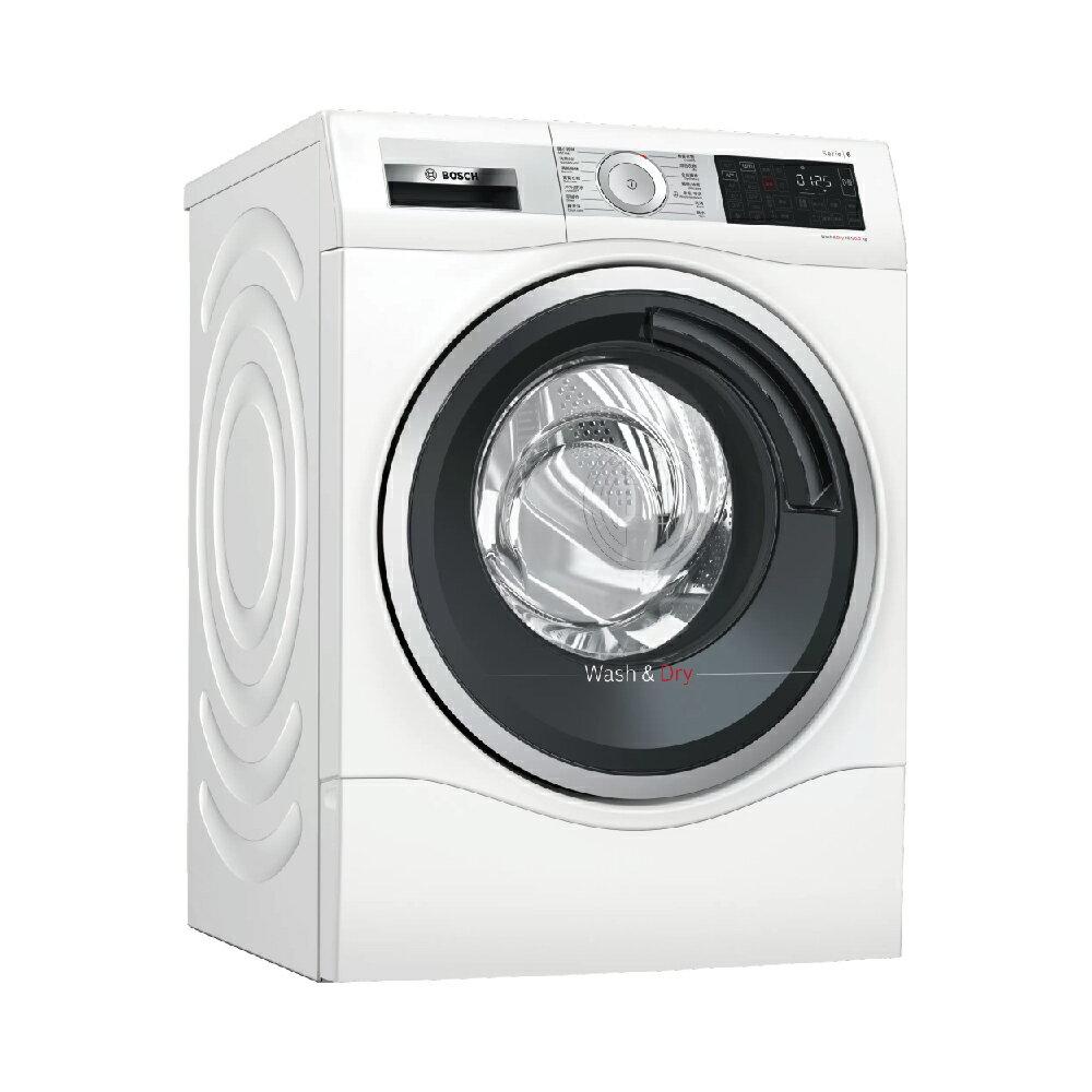 ★全館滿萬折五百★【BOSCH博世】歐規10公斤 220V洗脫烘滾筒洗衣機(WDU28560TC)