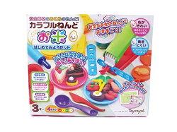 日本 Toyroyal 樂雅 米黏土系列-開心甜點組 7347【紫貝殼】