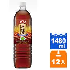 【免運直送】愛之味麥仔茶1480ml*12瓶箱【合迷雅好物商城】