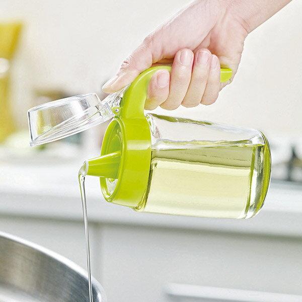 妙管家 多 玻璃油壺 油瓶 油醋罐320ml HK~0346