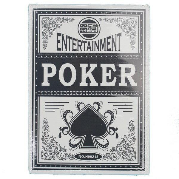 超大撲克牌 17cm x 12cm H00213/一盒入{促120} 表演撲克牌 魔術撲克牌 大撲克牌 小氣大財神~XF2357
