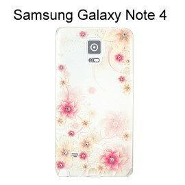 施華洛世奇彩鑽透明軟殼 [火花] Samsung Galaxy Note 4 N910U