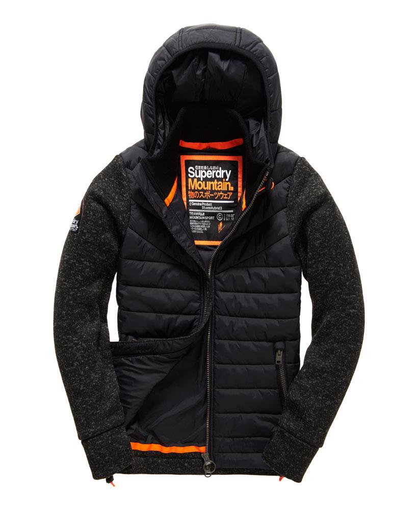 [男款]英國名品 正品代購 極度乾燥 Superdry STORM 連帽男士風衣戶外休閒外套帽T 砂礫黑 0