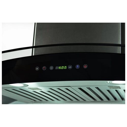 "AKDY 36"" Stainless Steel AK668s3 Wall Mount Range Hood With Remote Control 1"