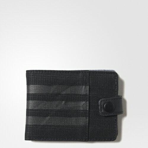 ADIDAS 3S PER Wallet 錢包 短夾 黑 【運動世界】AK0018